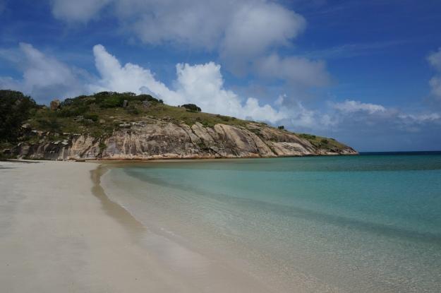Our private beach again